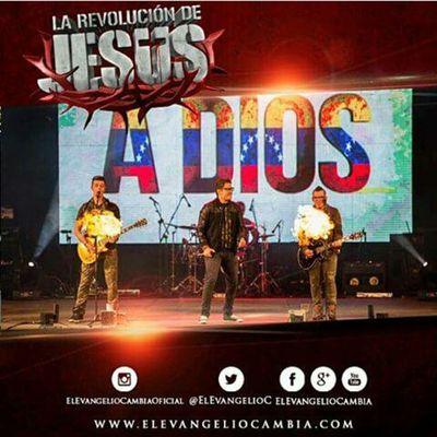 Venezuela se vuelve a Dios Larevoluciondejesus Convocatoriaelevangeliocambia PtoOrdaz