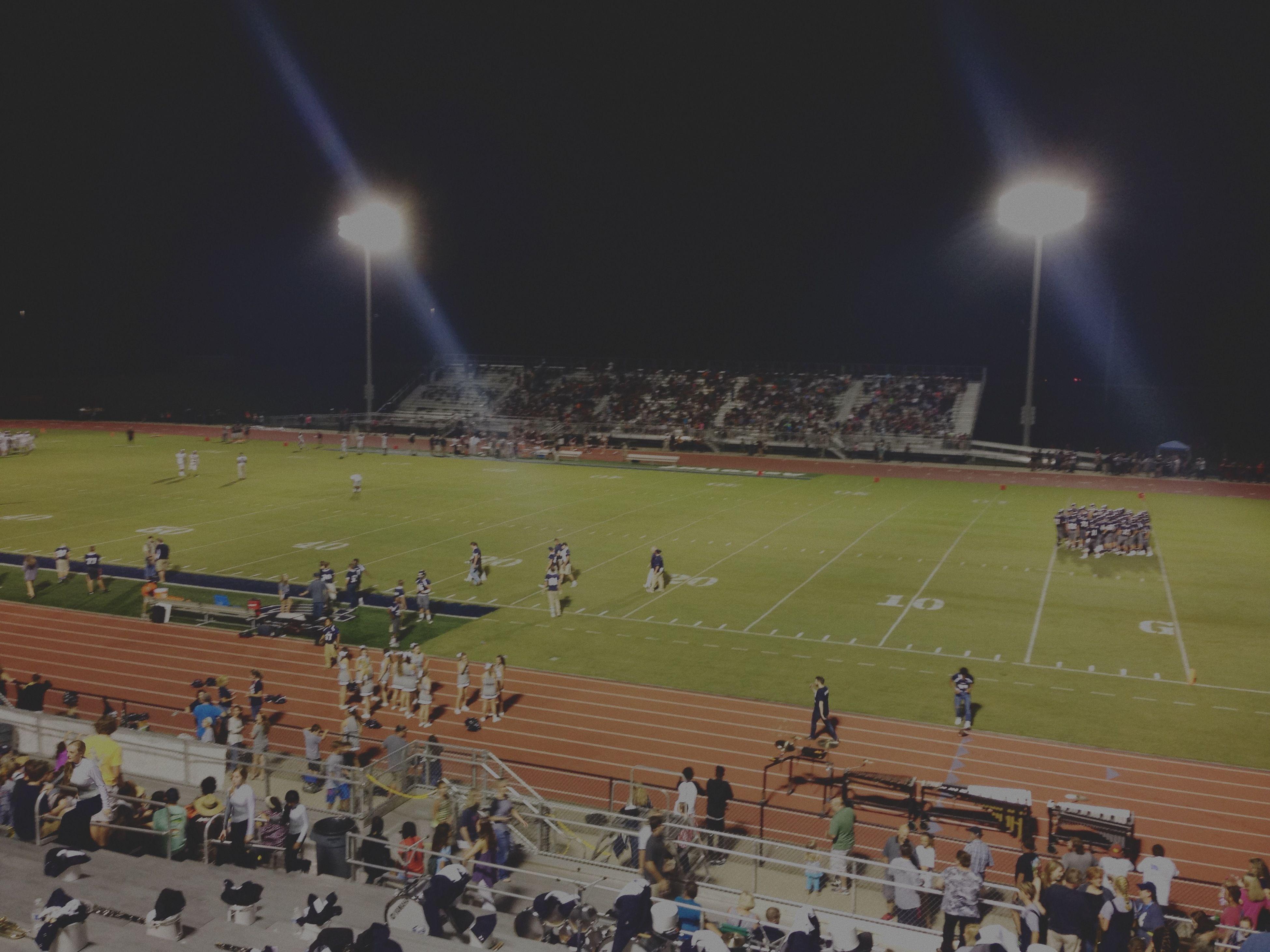 Football Stadium Football Coahulla