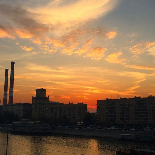 Moscow Sunset Sky My Sky Skyporn Russia The Architect - 2016 EyeEm Awards City City View  Moscow Life Cityscape Urban Urban Landscape Urban Sunsets Orange Sky
