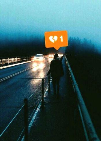 Heartbroken Lonely Life Nostalgia Journey
