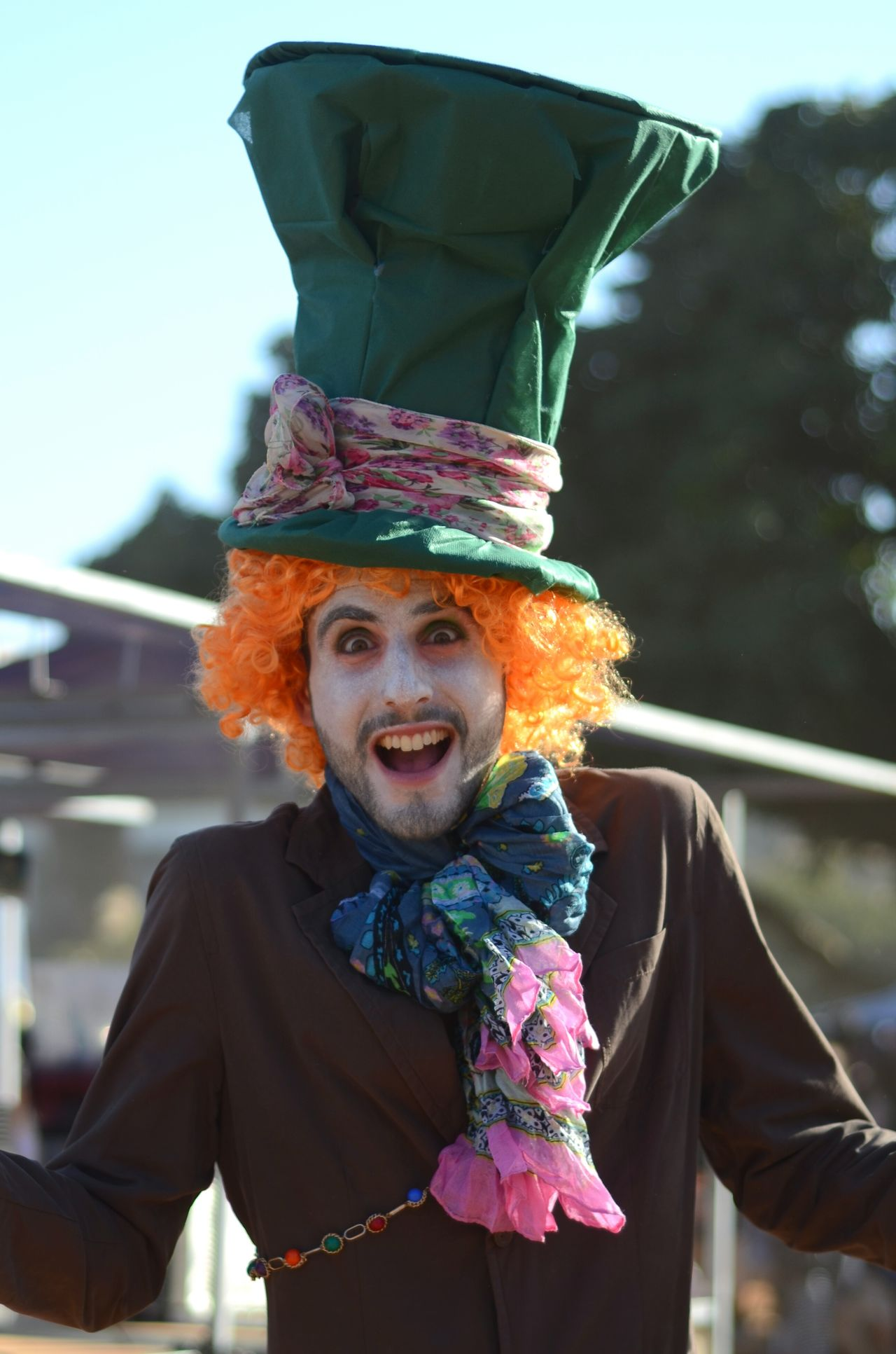 Colors Of Carnival Hat Big Hat Big Smile Costume EyeEm Best Shots Eye4photography  EyeEm Street Photography Streetphotography Check This Out Peoplephotography Man Surprised Showcase: February Holiday Jews Israel Custom Purim Let Your Hair Down