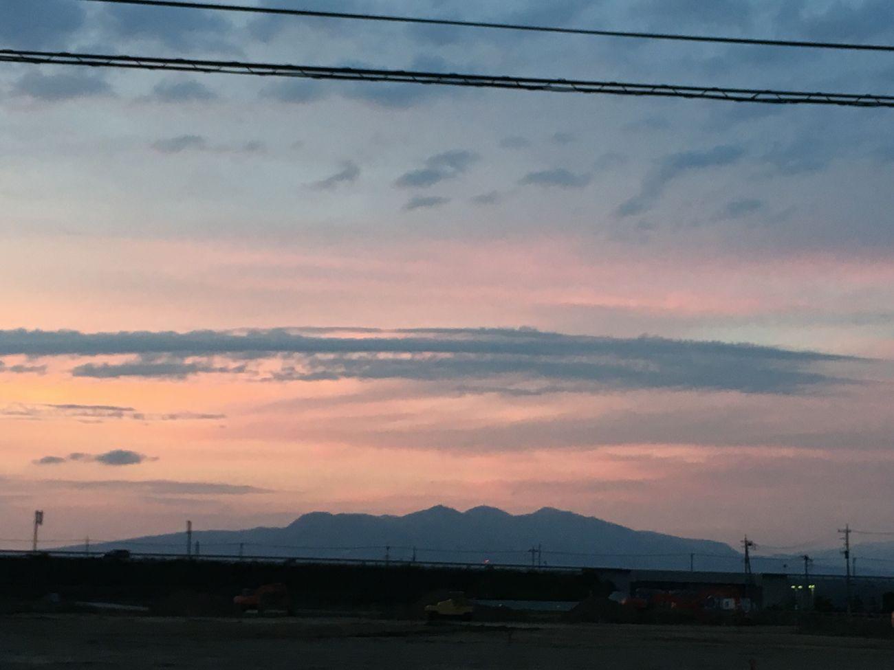 赤城山 黄昏 夕暮れ