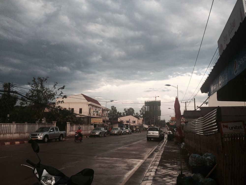 Yesterday The Sky After Rain Hello World In My House