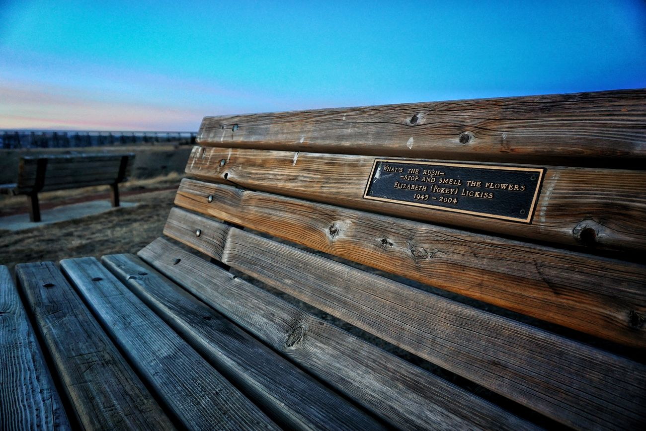 Bench Overlooking Coulees Looking To The Other Side Train Trestle Bridge Bridge EyeEm Best Shots Sunset_collection EyeEm Best Edits