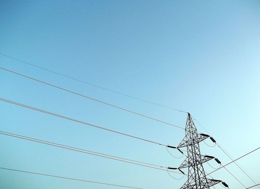 Backgrounds Low Angle View Data No People Technology Nature Day Sky Outdoors Close-up Electricline Minimalist Architecture