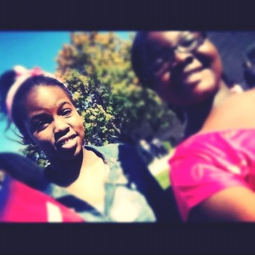 #Old #Young days #Breast Cancer Walk (: