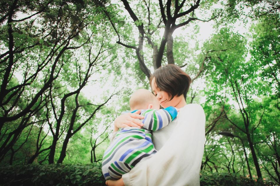 Beautiful stock photos of familien, bonding, family with one child, togetherness, love