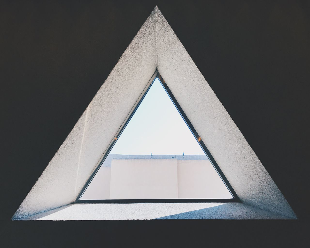 Triangle Shape Architecture No People Built Structure Low Angle View Geometry Indoors  Close-up Day Window Shapes Shapes And Forms Architecture
