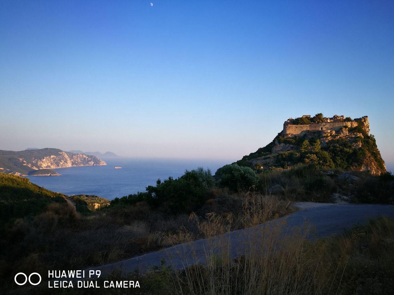 Castello Castel Angelokastro Bizantin Strory