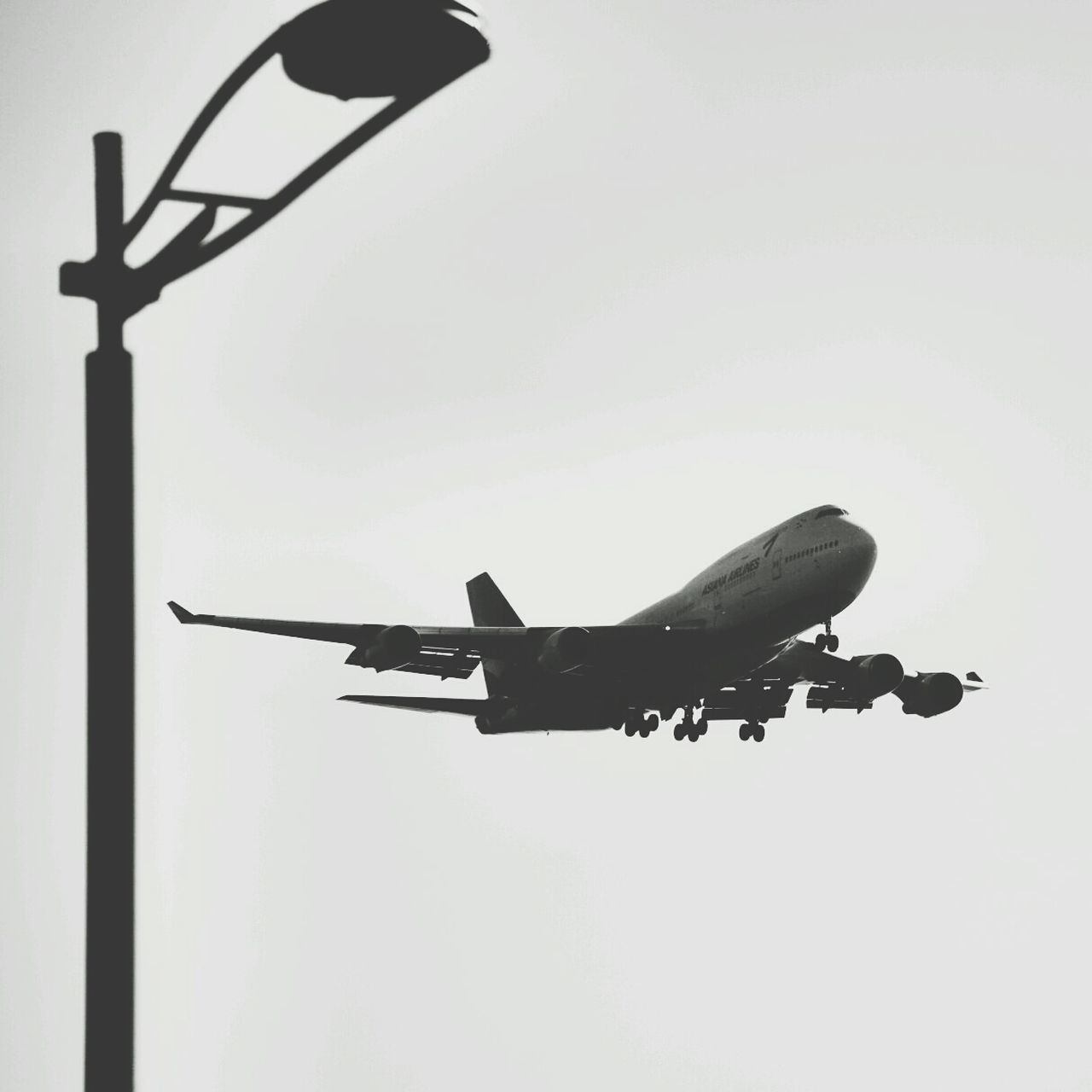 Korea Photos Airplane At The Airport Blackandwhite Silhouette In The Terminal