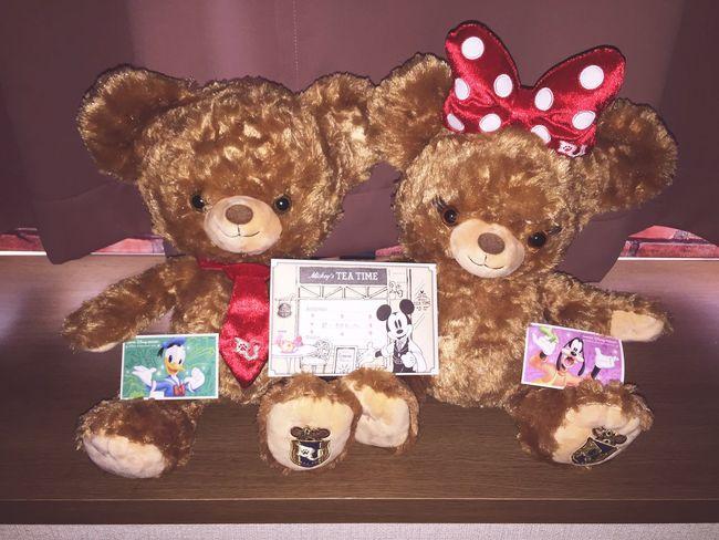 だいすきな彼からのホワイトデーサプライズ。 ほわいとでー サプライズ ユニベア ユニベアシティ ディズニー 彼氏 Whiteday Suprise Present UniBEARsity Disney Cute Boyfriend Love Happy