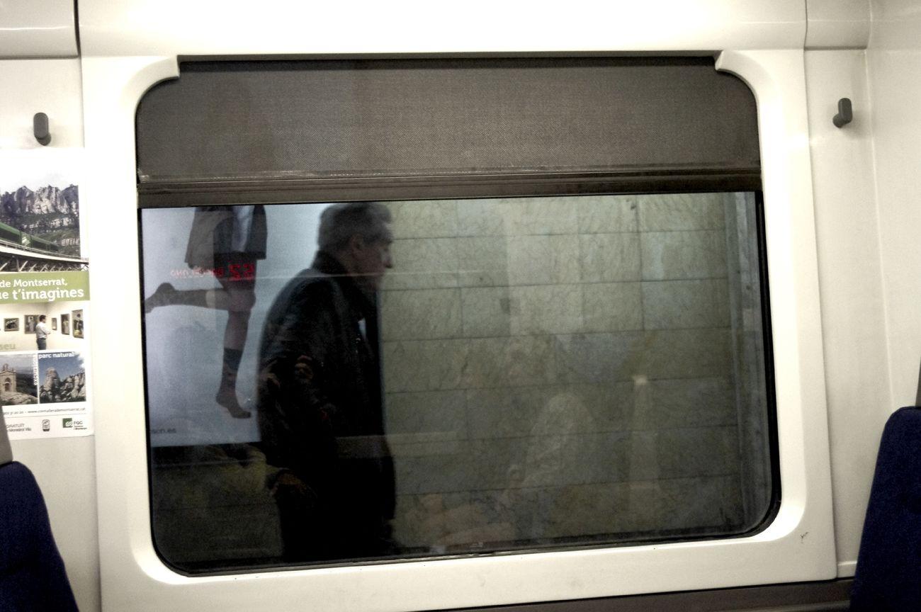 Metro at barcelona Metro