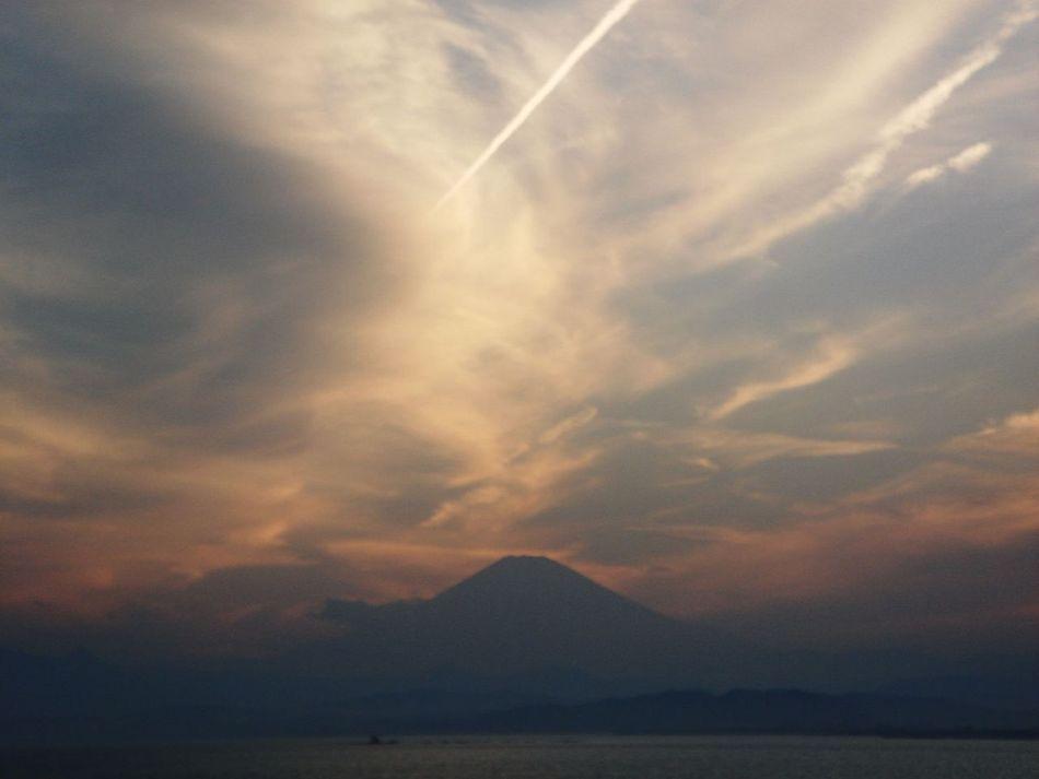 富士山 富士 Mt.Fuji 夕焼け