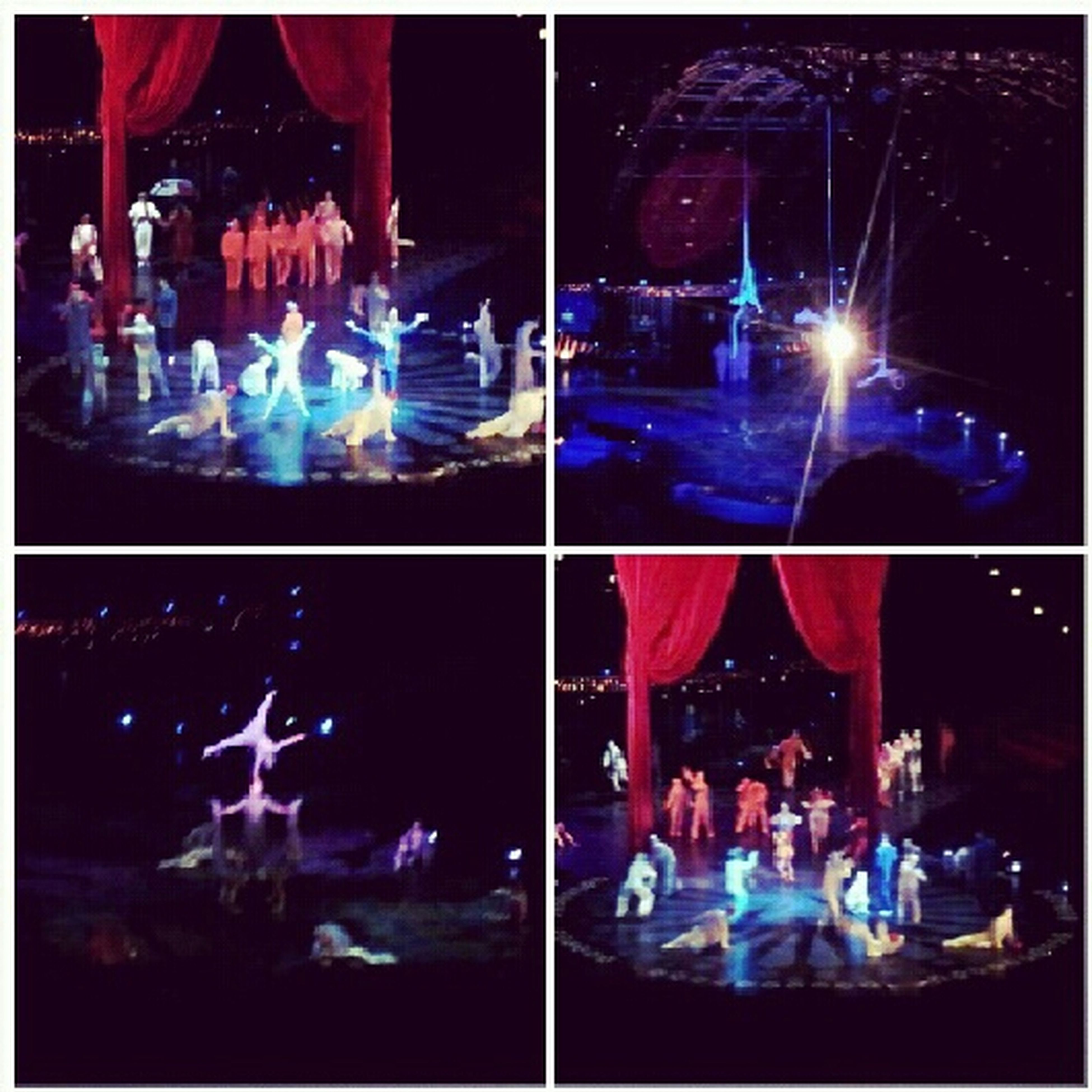 Went To Go See Cirque Du Solei! :D