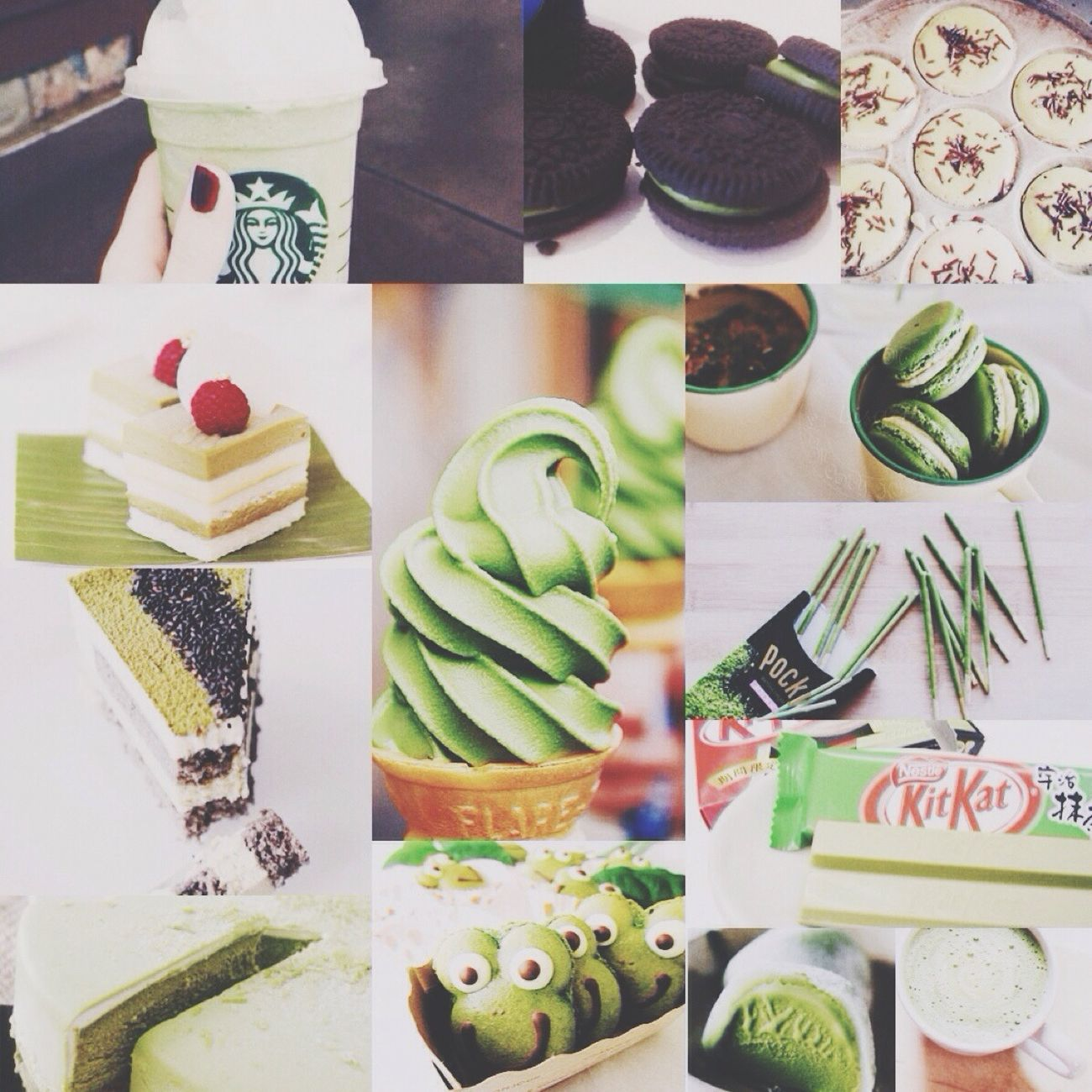 What's For Dinner? Greenteakitkat Greentea Cake ???