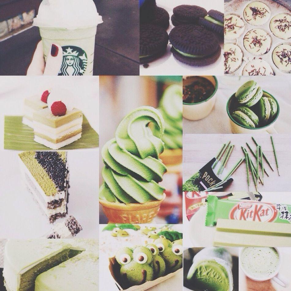 What's For Dinner? Greenteakitkat Greentea Cake ???