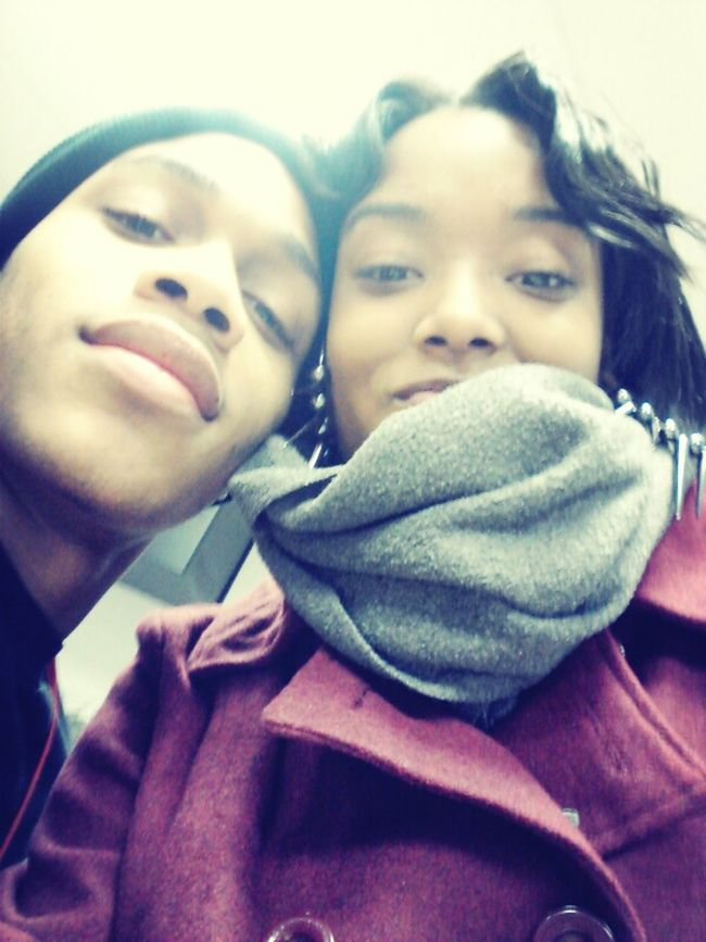 With My Beautiful Boo(: