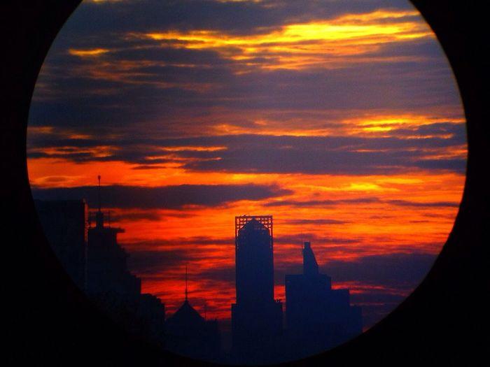 望远镜的效果照片