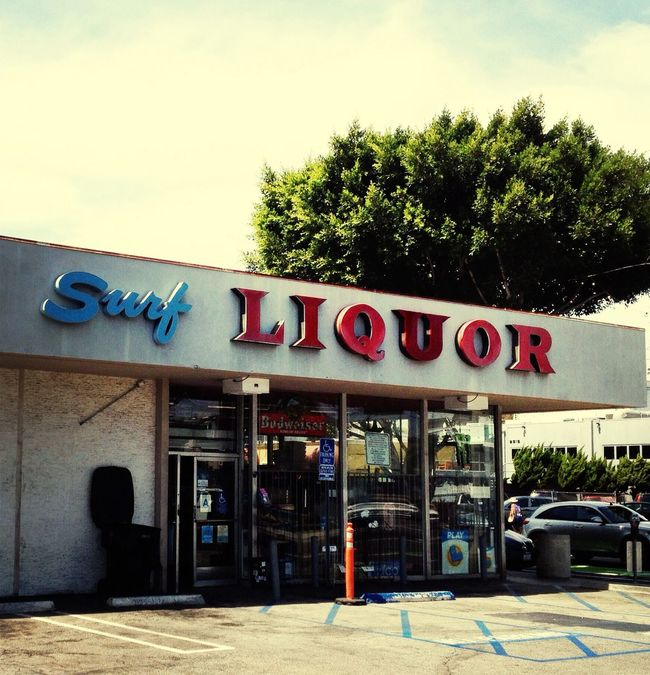 Signs Drink, Surf, Drown