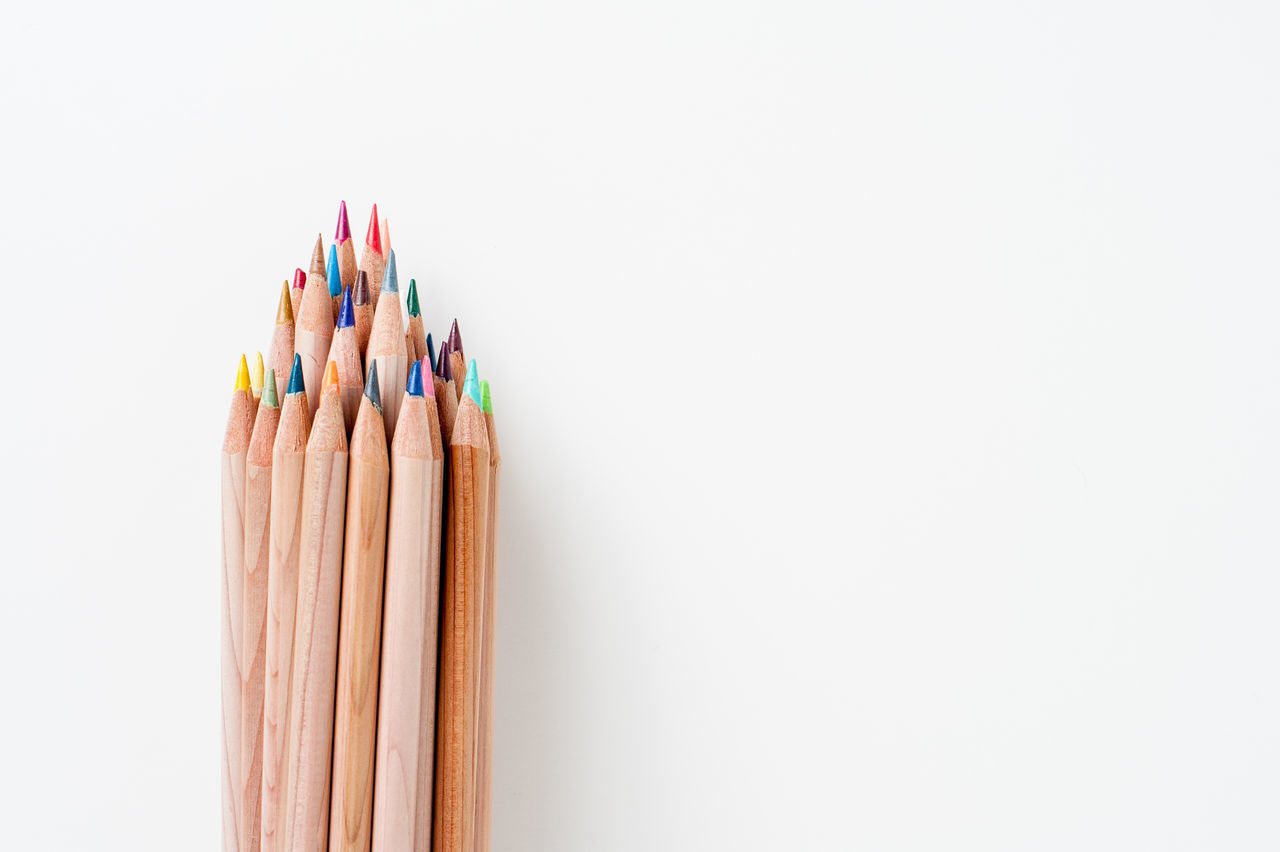 Beautiful stock photos of zeichnungen,  Bunch,  Close-Up,  Colored Pencil,  Copy Space