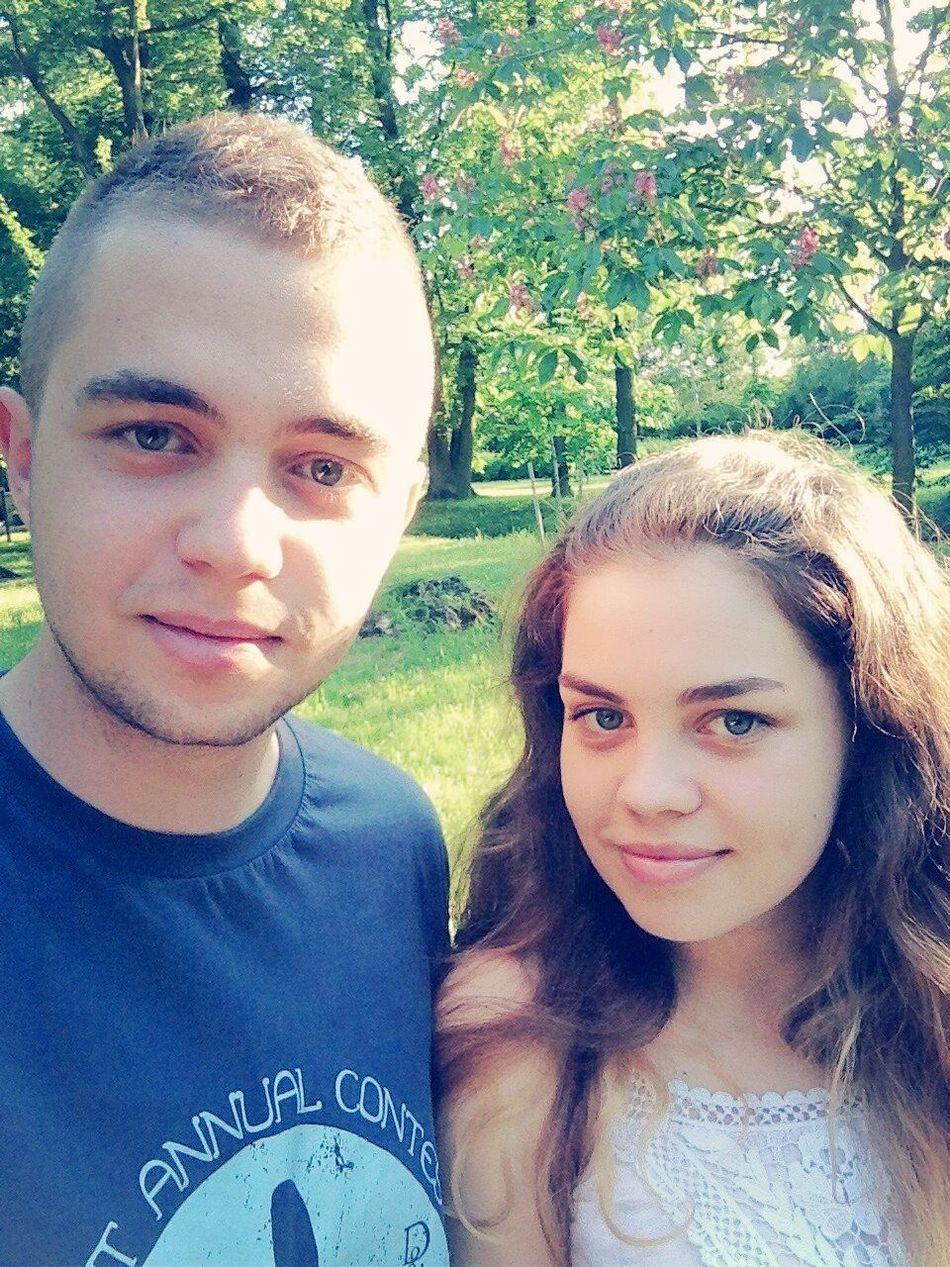 Hello World Enjoying Life With my lovely brother ;) Polishgirl Polishboy  It's too long. I miss you.