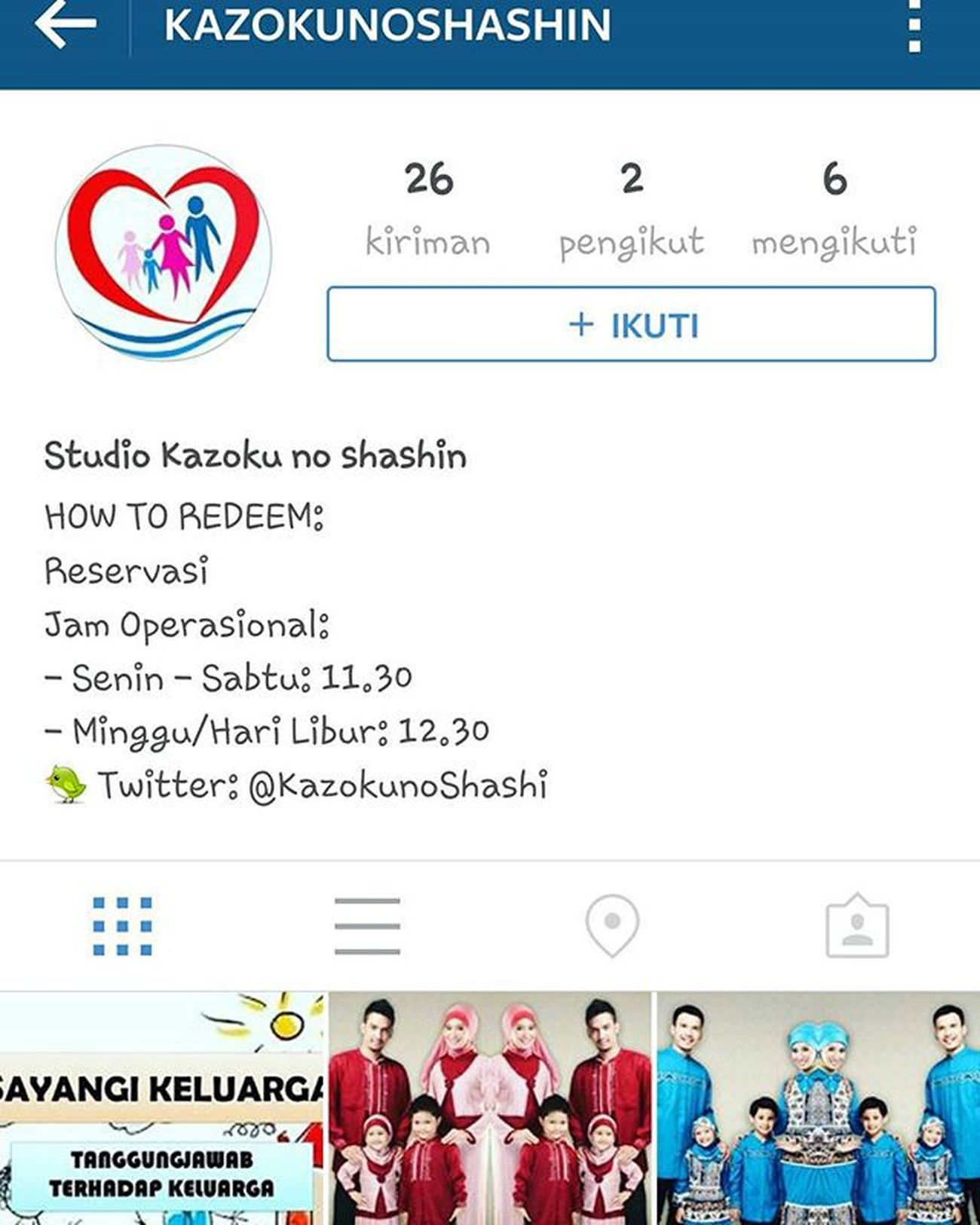 Kazokunoshashin Follow @kazokunoshashin & @rizkinizer1 👍👍👍👍👍
