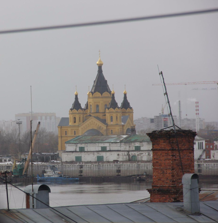 Architecture City No People зима нижний новгород облачно храм через терни к звездам