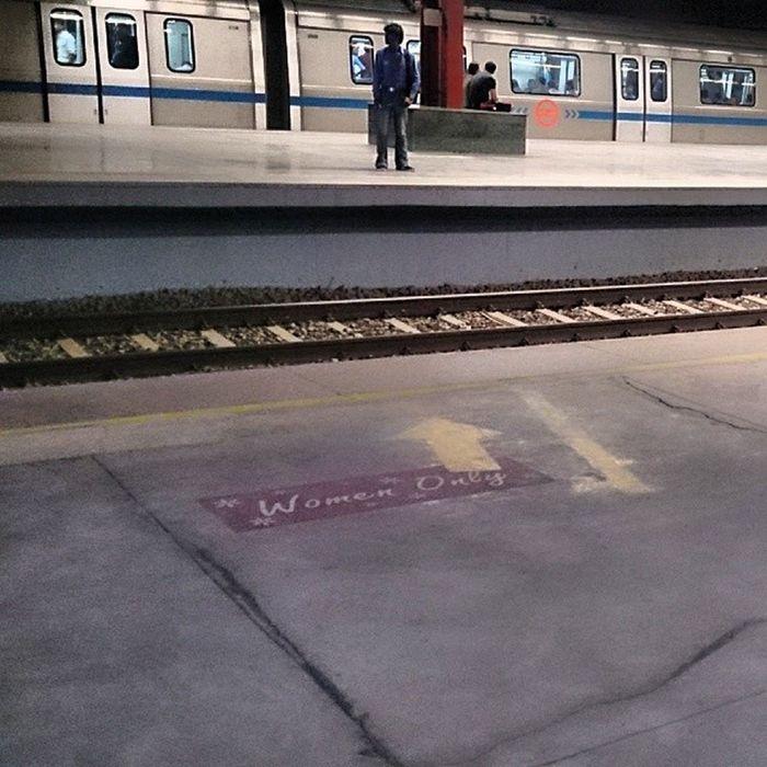 Tiresome  Day Horrible infact....... Yamunabank Metro Delhi Noida Station