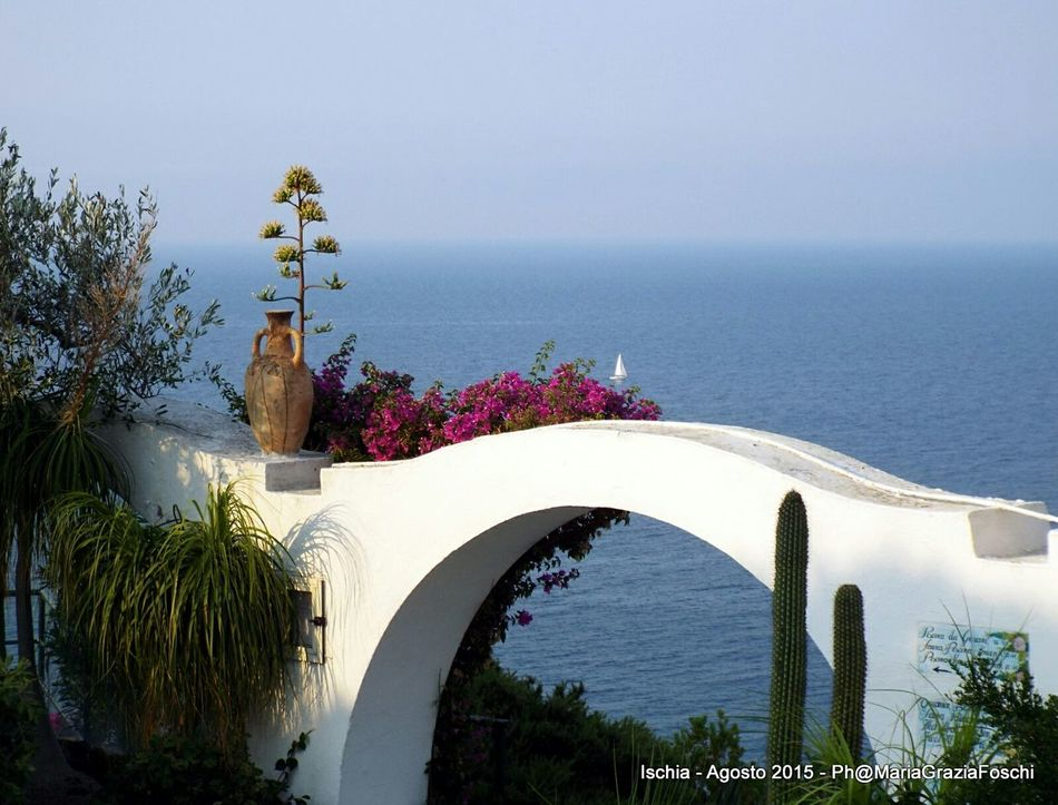 Relaxing Taking Photos No People Igersitalia Capture The Moment Igers Summer2015☀️ Sea Picoftheday Cartolina Holiday Bridge Ischia Sant'angelo Igerscampania