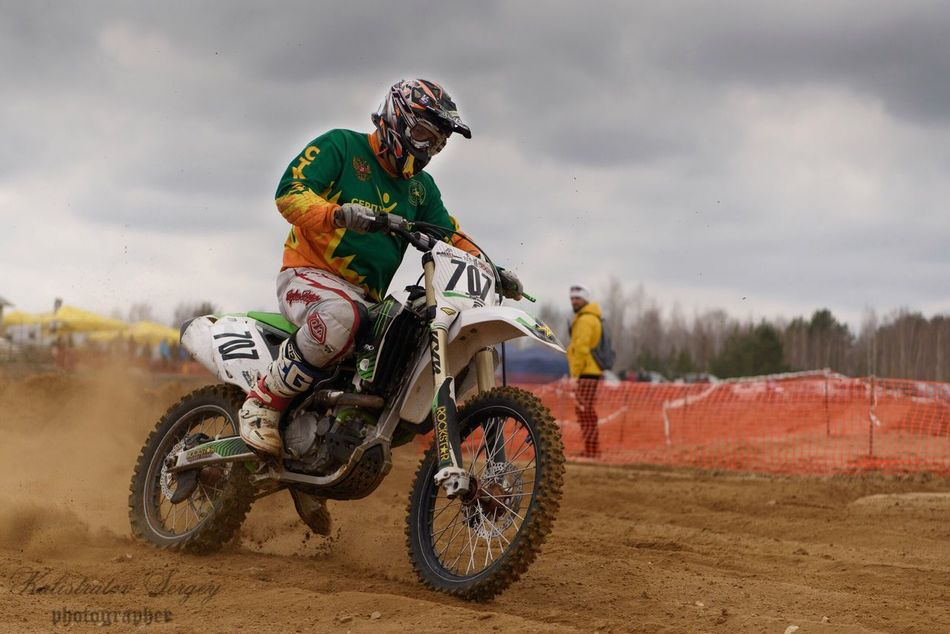 Rider Moto Motocross Bike Race Motosport