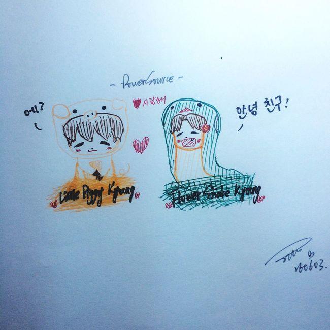 Baekhyun Little Piggy Kyoong & Flower Snake Kyoong