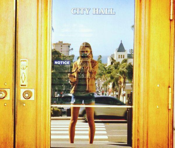 Taking Photos Enjoying Life That's Me Taking Photos Hello World Ventura Ca Ventura City Hall Reflections
