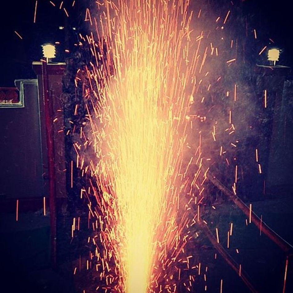 1stday 2016 Ganeshmandir Latashil Fireworks :)