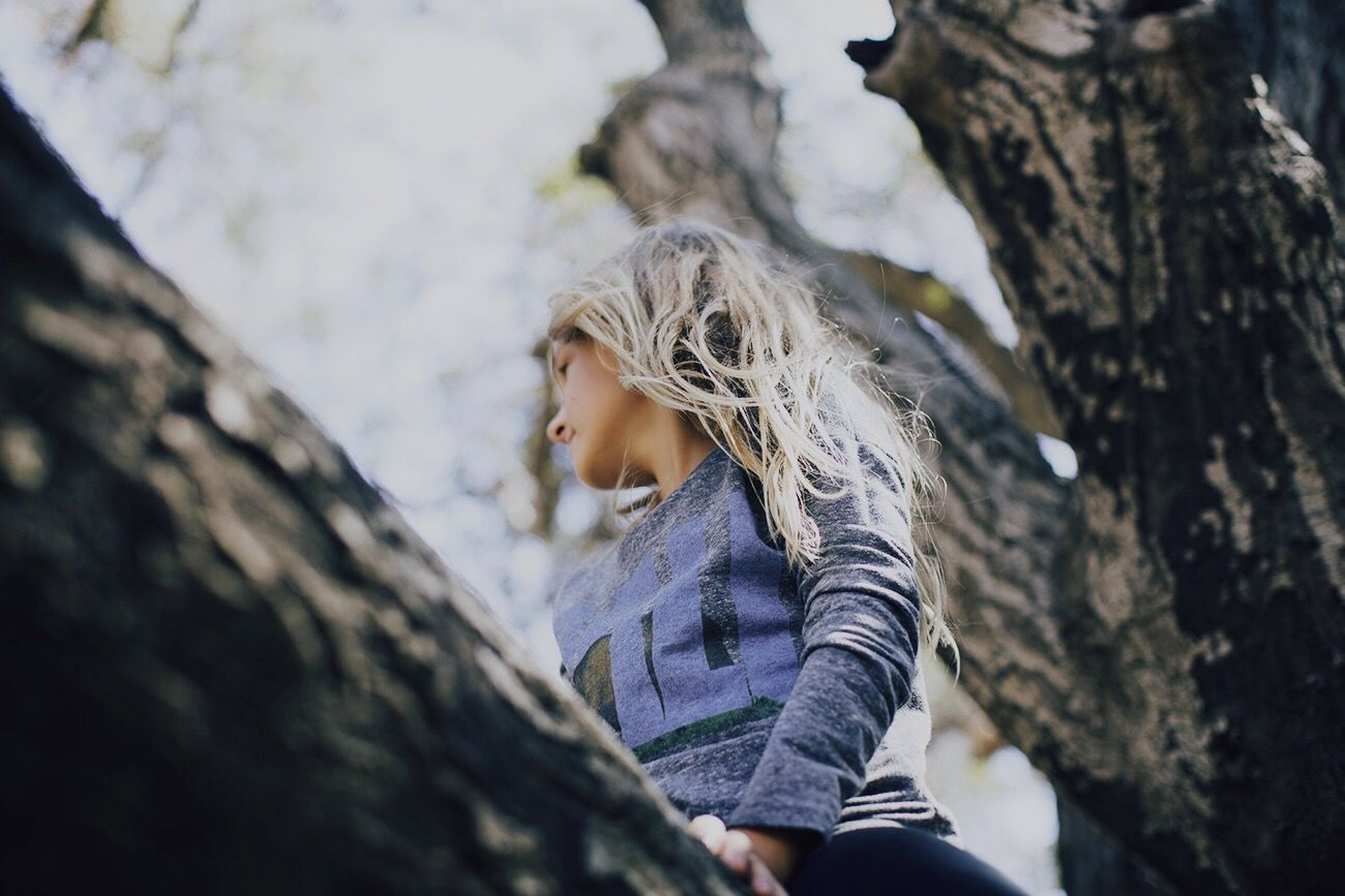 The Portraitist - 2015 EyeEm Awards Malibu Creek State Park Color Portrait Up A Tree Look Up California Open Edit