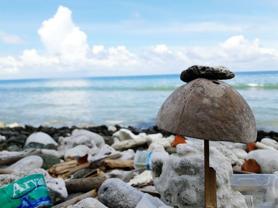 Resist Sea Rock - Object Cloud - Sky Outdoors Nature Freshness Holiday Fun Amazing_captures Blue Water Fun Times ^_^ Morning Time 😊
