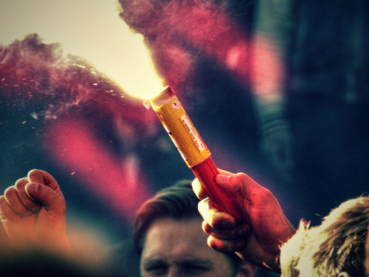 fans celebrating PSV championship 2015 Celebration Champion Championship Eindhoven Football Football Fans Football Fever Psv Soccer Soccer Fans Street Photography Streetphotography Torch Torchlight