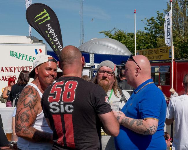 Douglas Group Of People Isle Of Man TT Racemotor
