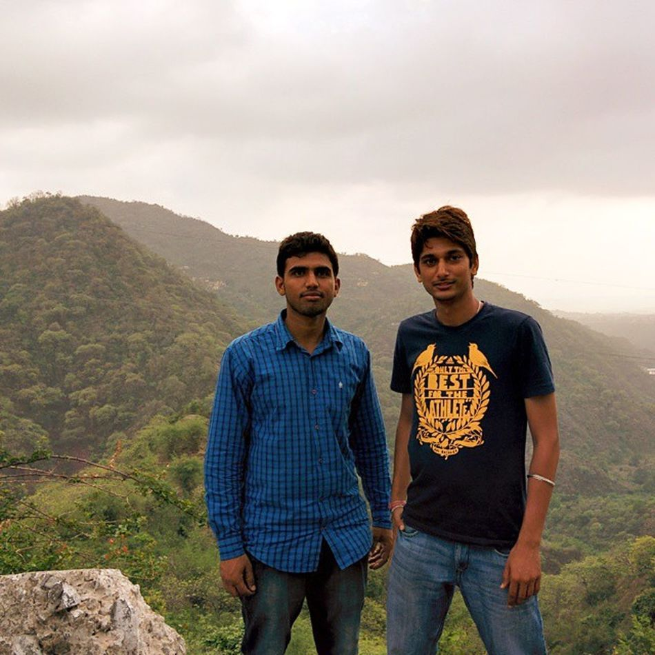 TBT  Me And Sattu Last Year OFC Trip Kasauli 😉😀