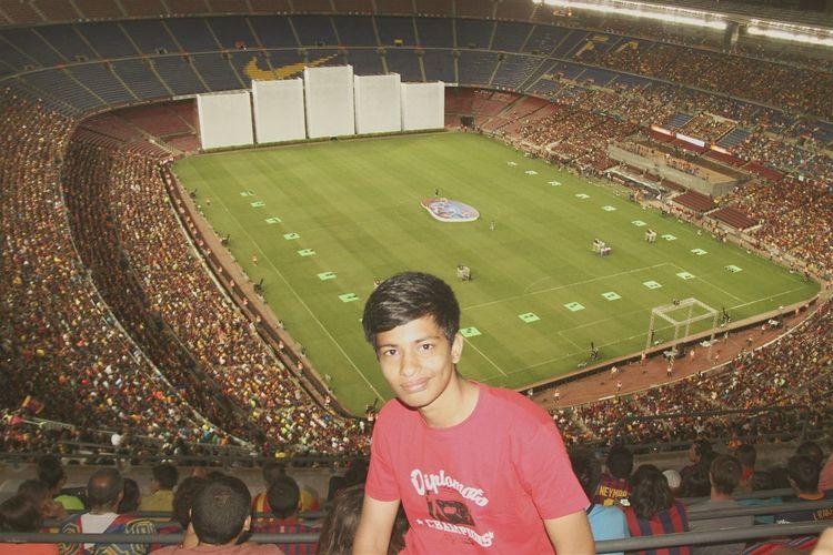 At football ground Taking Photos First Eyeem Photo