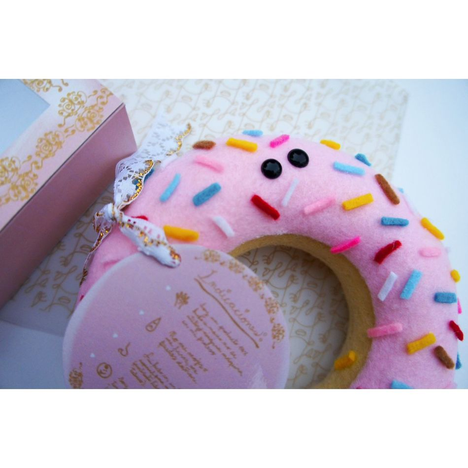 High quality handmade💖 Laviniafenton Handmade Needlecase Donut KAWAII Baroque First Eyeem Photo Sewing Design ArtWork