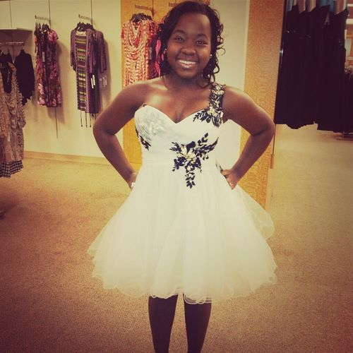 Me About To Perform At The Mall.
