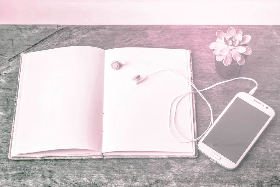 Book Close-up Day Diary Directly Above Flower Indoors  No People Page Paper Pencil Sketch Sketch Pad Still Life Table