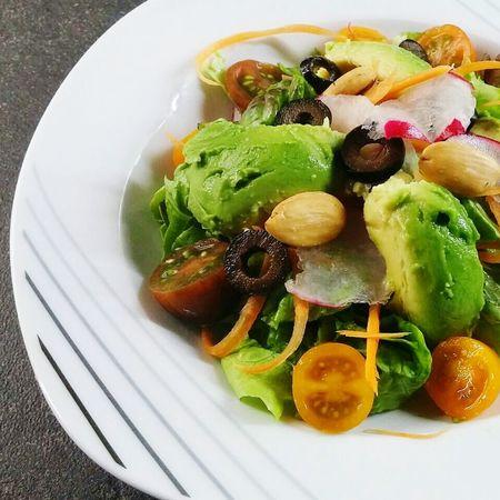 Delicioso Delicius Comidas ComidaSaludable Estilodevida Comer Aguacate Almendras Tomate