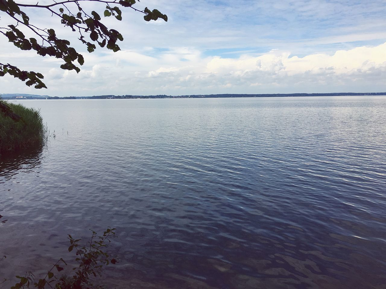Check This Out Water Tranquility Tranquil Scene Oberbayern Chiemsee Bayern Reflection