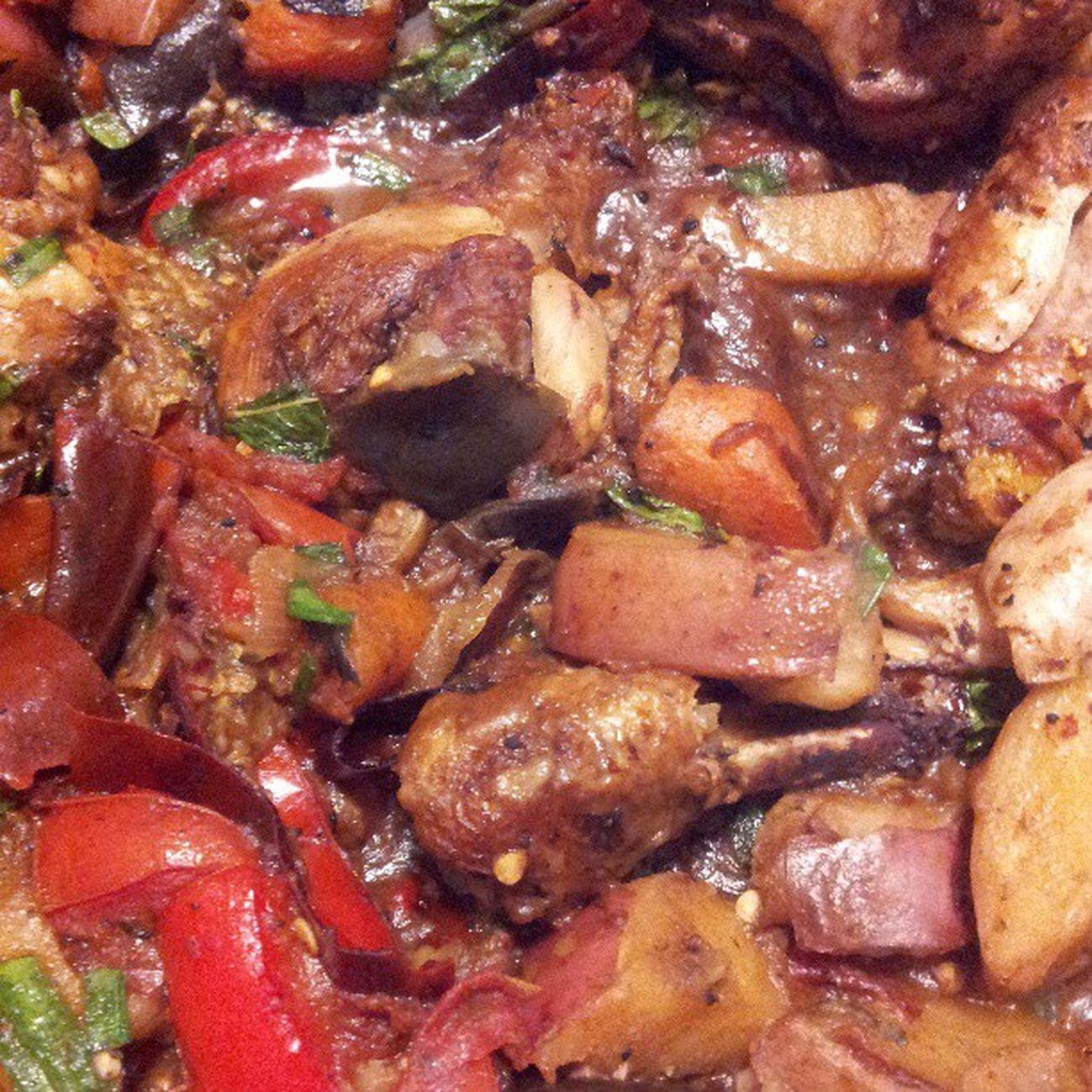 Sicilian chicken stewSpicy MarthaStewart