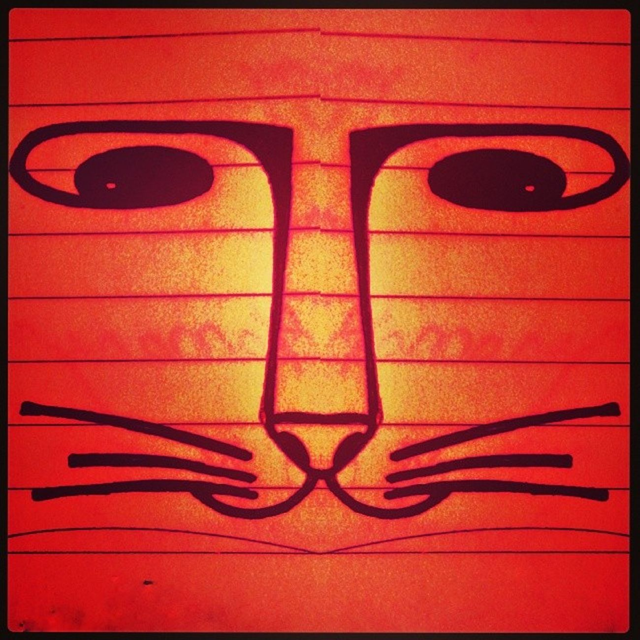 CatCatBurningBright. Catsofchai Catseriesofchaiytra Catsofmarch Catinsketch catdoodle cataday brightorange cat edited reflect symmetry instalove instalike instacat instadraw experiment ilovecats instasketch instapic catinsky catscribble
