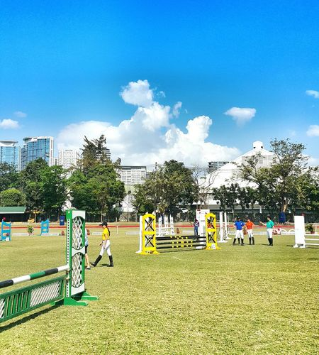Show jumping Horse Riding Weekends Taking Photos Clouds And Sky Manila Polo Club From Where I Sit