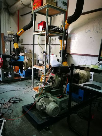 Indoors  Equipment Work Tool Workshop Manufacturing Equipment Business Finance And Industry Industry Machinery Technology No People Repair Shop Metal Industry Day University Architecture Indoors  Modern Car Transportation Metal