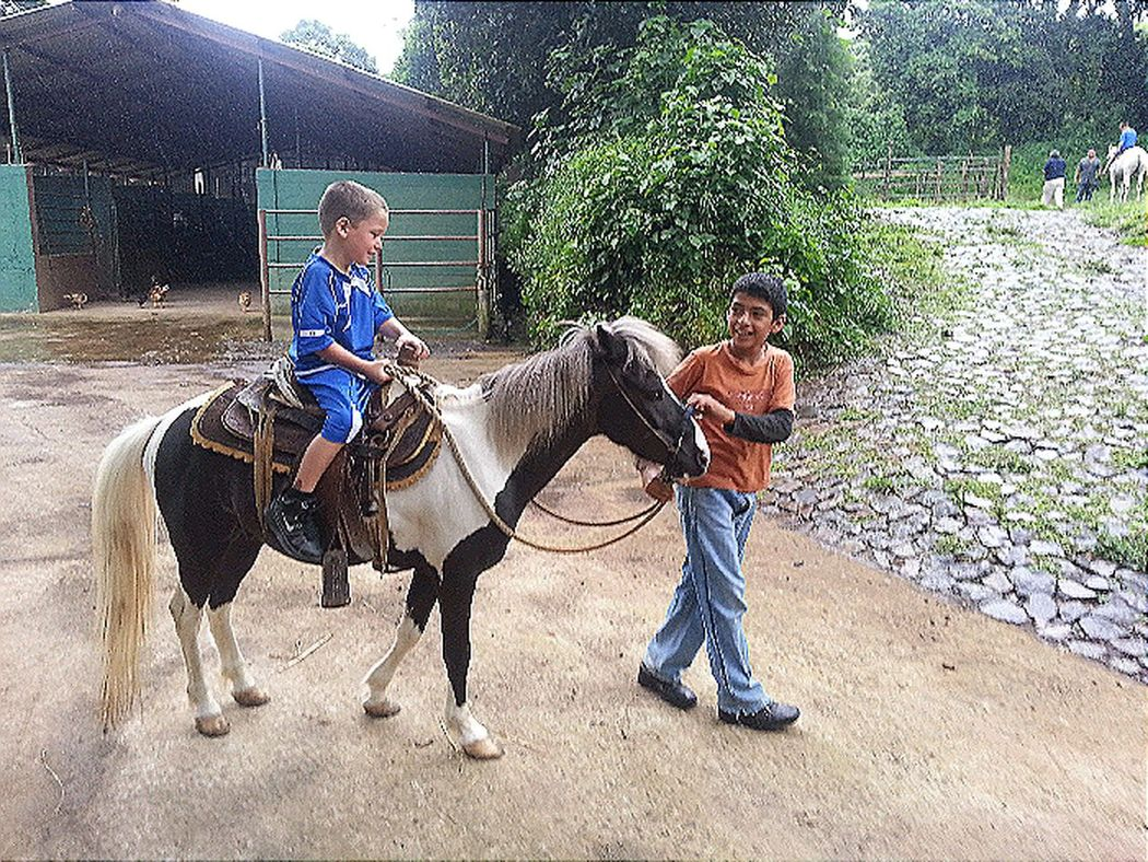 My Grandson Ryan Horse Riding Hanging Out