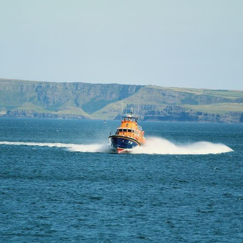 Portursh RNLI Lifeboat Nautical Vessel Sea Lifeboat RNLI Lifeboat Safety Portrush Outdoors